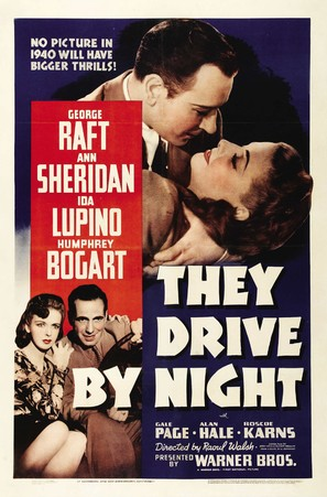 They Drive by Night - Movie Poster (thumbnail)