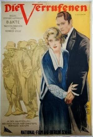 Die Verrufenen - German Movie Poster (thumbnail)