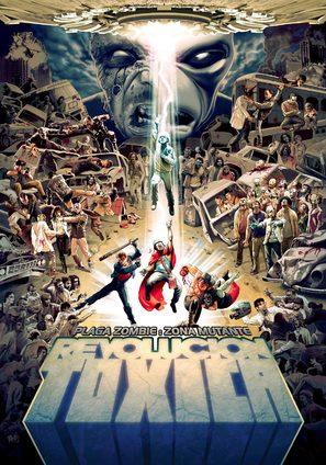Plaga zombie: Zona mutante - Argentinian Movie Poster (thumbnail)