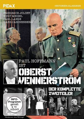 Oberst Wennerström - German Movie Cover (thumbnail)