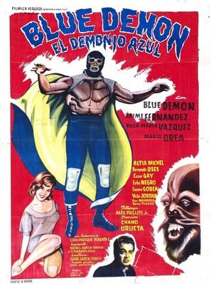 Demonio azul - Mexican Movie Poster (thumbnail)