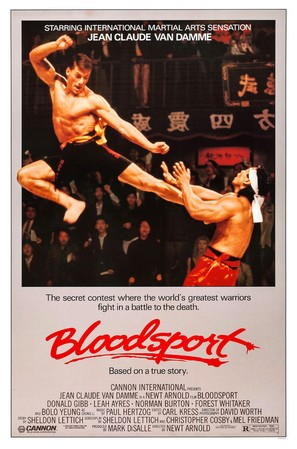 Bloodsport - Movie Poster (thumbnail)