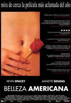 American Beauty - Mexican Movie Poster (thumbnail)