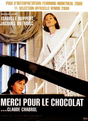 Merci pour le chocolat - French Movie Poster (thumbnail)