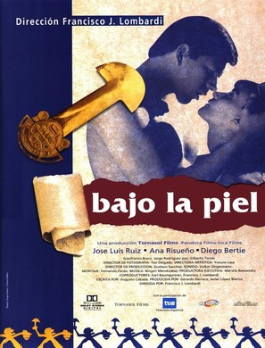 Bajo la piel - Spanish Movie Poster (thumbnail)