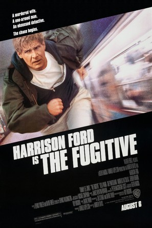 The Fugitive - Advance movie poster (thumbnail)