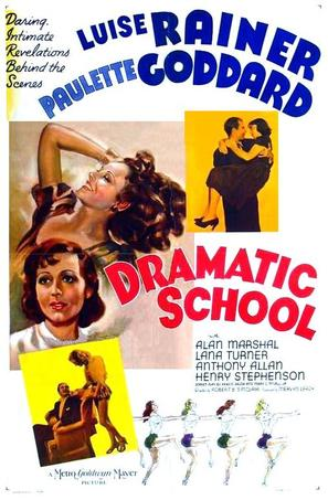 Dramatic School - Movie Poster (thumbnail)