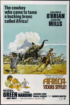 Africa - Texas Style! - Theatrical movie poster (thumbnail)