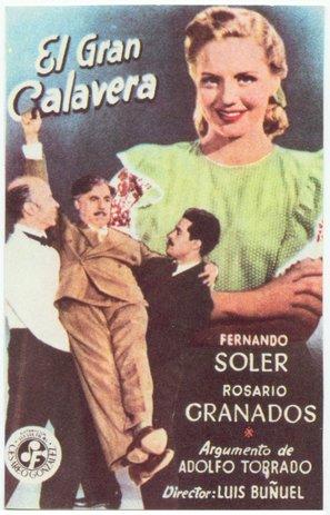 Gran Calavera, El - Spanish Movie Poster (thumbnail)