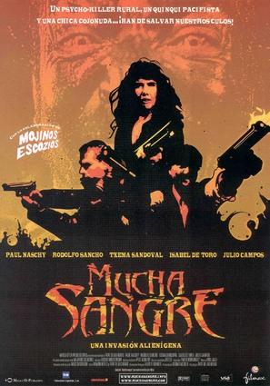 Mucha sangre - Spanish poster (thumbnail)
