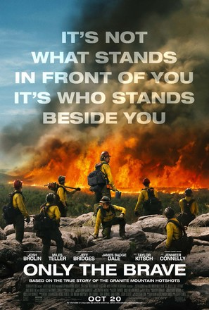 Only the Brave - Movie Poster (thumbnail)