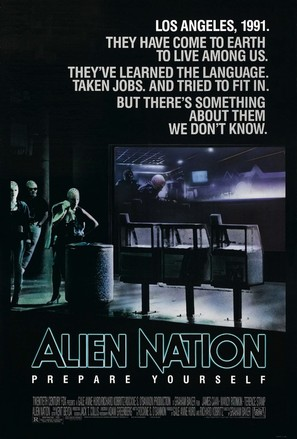 Alien Nation - Movie Poster (thumbnail)