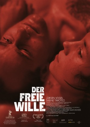 Der freie Wille - German Movie Poster (thumbnail)
