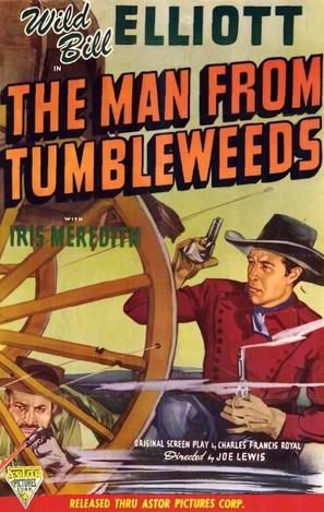 The Man from Tumbleweeds - Movie Poster (thumbnail)