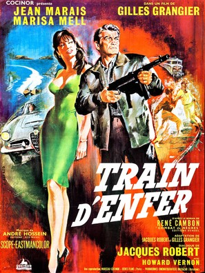 Train d'enfer - French Movie Poster (thumbnail)