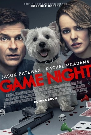 Game Night - British Theatrical movie poster (thumbnail)
