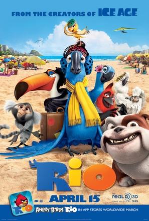 Rio - Movie Poster (thumbnail)