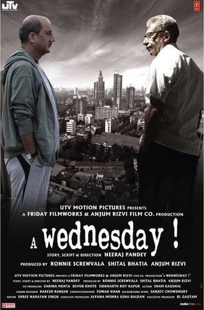 A Wednesday - Indian Movie Poster (thumbnail)