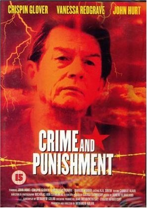 Crime and Punishment - British DVD movie cover (thumbnail)