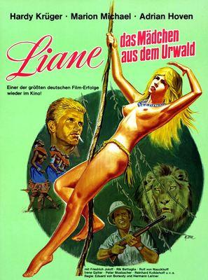 Liane, das Mädchen aus dem Urwald