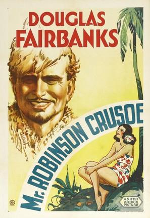 Mr. Robinson Crusoe - Movie Poster (thumbnail)