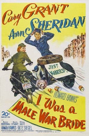 I Was a Male War Bride - Movie Poster (thumbnail)