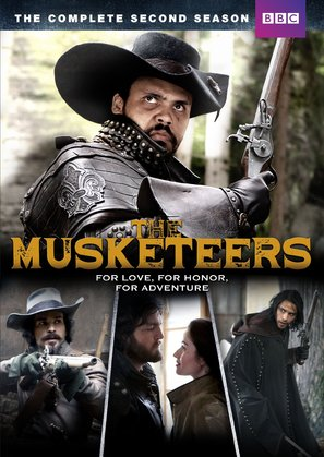 """The Musketeers"" - DVD movie cover (thumbnail)"