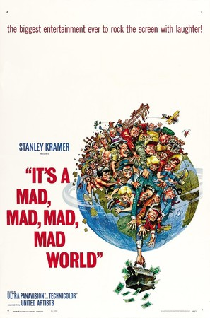 It's a Mad Mad Mad Mad World - Movie Poster (thumbnail)