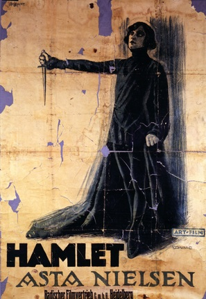 Hamlet - German Movie Poster (thumbnail)