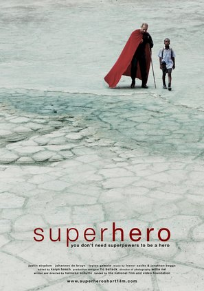 Superhero - South African Movie Poster (thumbnail)
