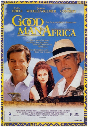 A Good Man in Africa - German Movie Poster (thumbnail)