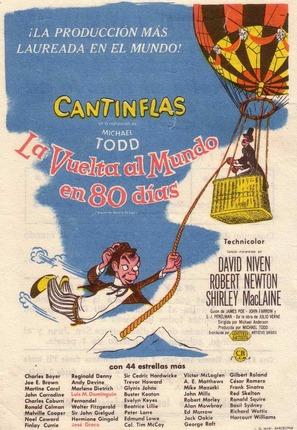 La vuelta al mundo con Cantinflas - Spanish Movie Poster (thumbnail)
