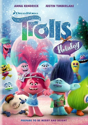 Trolls Holiday - DVD movie cover (thumbnail)