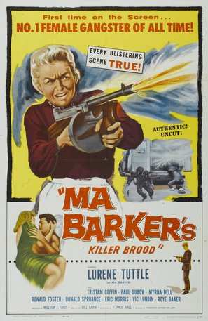 Ma Barker's Killer Brood - Theatrical poster (thumbnail)