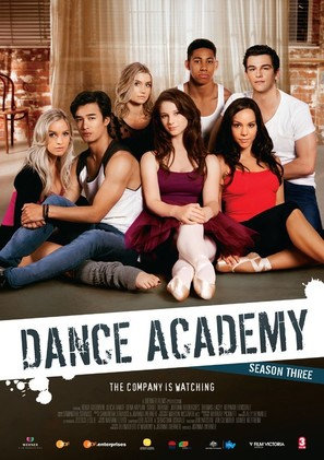 """Dance Academy"" - Australian Movie Poster (thumbnail)"