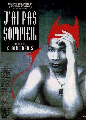J'ai pas sommeil - French Movie Poster (thumbnail)