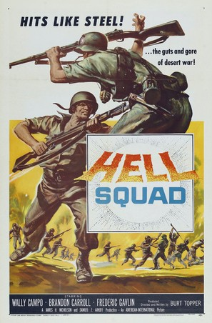 Hell Squad - Movie Poster (thumbnail)