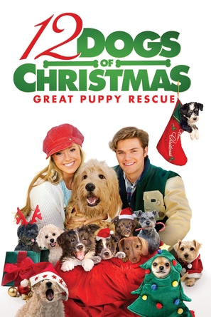 12 Dogs of Christmas: Great Puppy Rescue - DVD movie cover (thumbnail)
