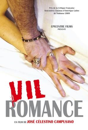 Vil romance - French Movie Poster (thumbnail)