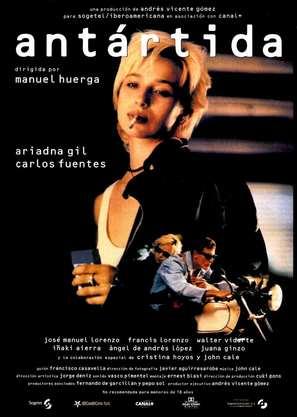 Antártida - Spanish Movie Poster (thumbnail)