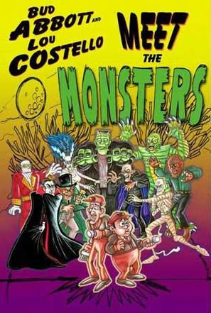 Abbott and Costello Meet the Monsters - Movie Cover (thumbnail)