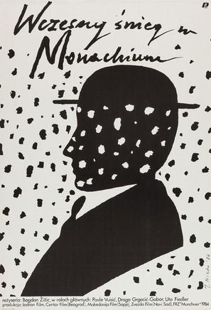 Rani snijeg u Münchenu - Polish Movie Poster (thumbnail)