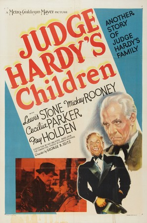 Judge Hardy's Children - Movie Poster (thumbnail)
