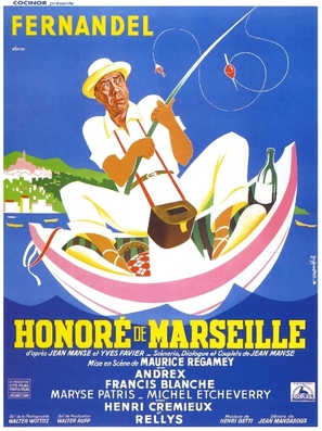 Honorè de Marseille - French Movie Poster (thumbnail)