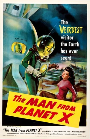 The Man From Planet X - Movie Poster (thumbnail)