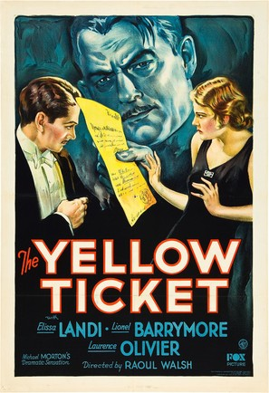The Yellow Ticket - Movie Poster (thumbnail)