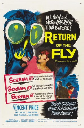 Return of the Fly - Theatrical poster (thumbnail)