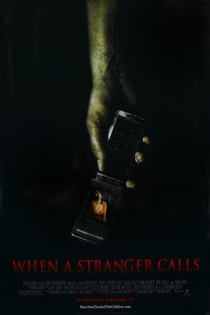 When A Stranger Calls - Movie Poster (thumbnail)