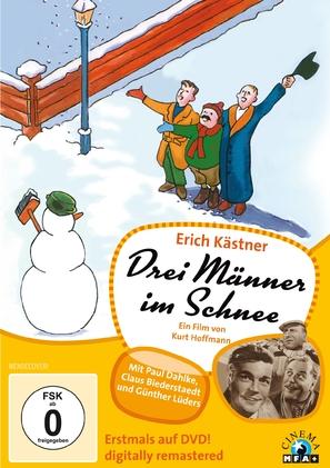Drei Männer im Schnee - German Movie Cover (thumbnail)