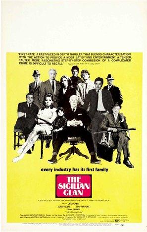 Le clan des Siciliens - Movie Poster (thumbnail)